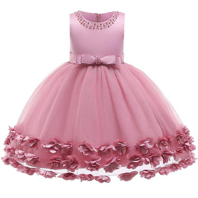 Flower Girl Dresses For Wedding Party Dresses Girls' Beauty Party The First Ball Dress Girl Birthday Present Flower Dress
