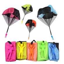 Мини парашют с ручной меткой детские игры на открытом воздухе