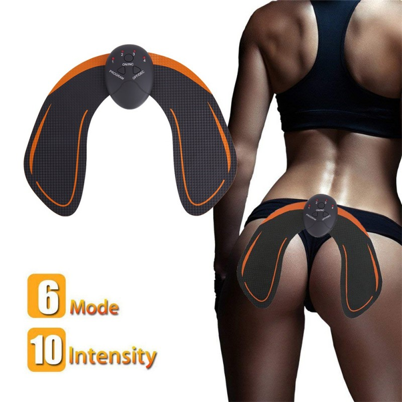 Hips Trainer Muscle Stimulator ABS Fitness Buttocks Butt  Enhancing Lifting Toner Slimming Massager Unisex