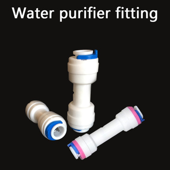 Water purifier fitting Tube Straight PE Pipe Fitting Hose Plastic Quick Connector Aquarium Water Filter Reverse Osmosis System 10m length 1 4 pe pipe water tube water purifier filter parts pipe for water dispenser accessories