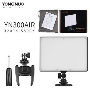 YONGNUO YN300 Air LED Video Light Photography Camera 96 LED Light Adjustable Color Temperature 3200K-5500K for Canon Nikon