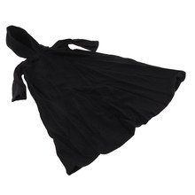 1/6 ölçekli elbise siyah pelerin için 12 ''çok/sıcak artı/rakamlar