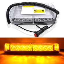 24 LED Car Roof strobe Light LED flashing Emergency Warning Lights  Police fire vehicle flash light beacon 12V