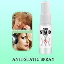 Антистатический тканевый спрей для волос эффективно устраняет статическое цепляние 30/100 мл#2D17
