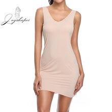 Женское платье без рукавов joyshaper гладкое бесшовное для похудения
