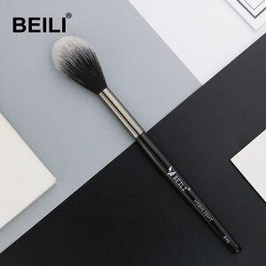 BEILI 1 piece Synthetic hair Highlight blusher makeup brush long handle Single Makeup Brush 846#(China)