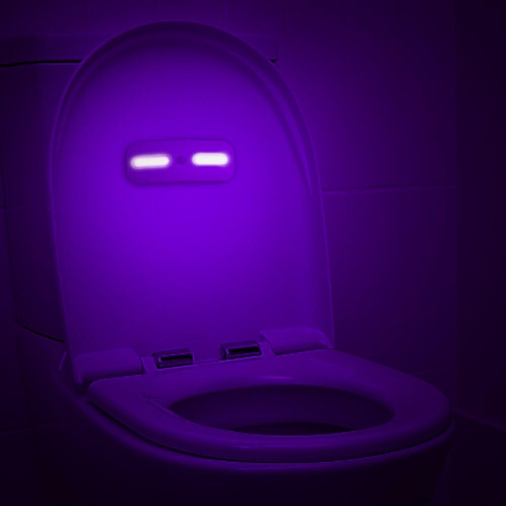 LED UV Germicidal Lamp Rechargeable Motion Sensor Sterilization Mites Lights Germicidal Lamp Bulb For Closet Cabinet Toilet