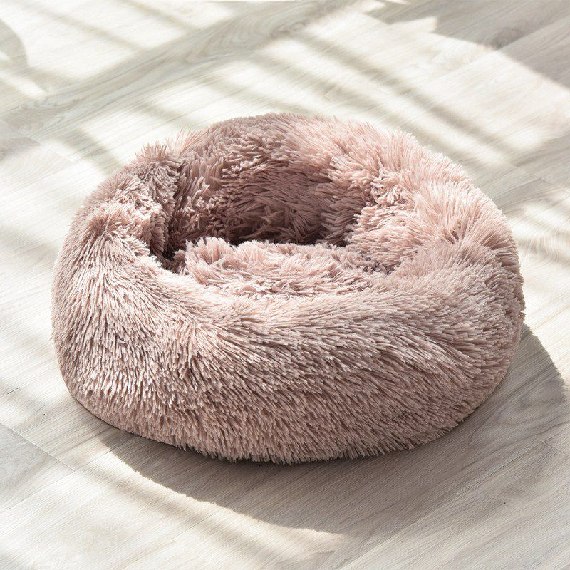 New Super Soft Dog Bed Long Plush Dog Kennel Deep Sleep Pet Bed Washable Velvet Mats Sofa For Dog Chihuahua Dog Basket Dog House