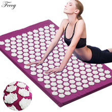 Acupuncture Cushion Massager Back Body Foot Massage Mat Pillow Set Relieve Stres