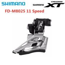 Shimano Deore XT FD M8025, dérailleur avant pour vélo pour vtt, 2x11 rapports, pince haute traction