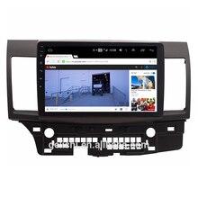 Android автомобильный Радио Аудио стерео Мультимедиа dvd плеер для Mitsubishi Lancer-ex 2007-2015 gps навигация
