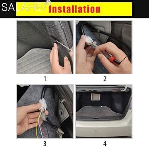 Image 5 - 12V 1.2M 1.5M Car Rear Trunk Tail Light Dynamic Streamer Reverse Warning LED Strip Auto Additional Break Trun Signal Lamp