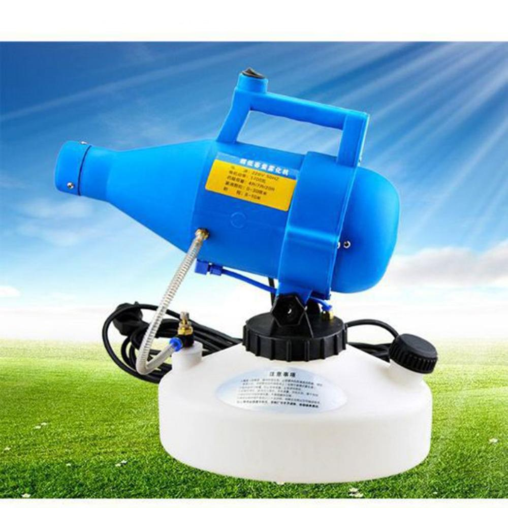 Electric Fogger Sprayer Cold Fogging 4.5L Ultra-low Volume Nebulizer Sterilizer Virus Disinfection Atomizer For Large Area
