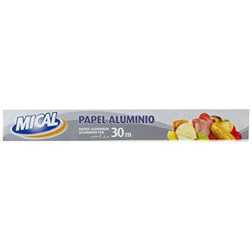 Mical - Papel Aluminio - 30 Metros - 1 Unidad - [pack De 3]