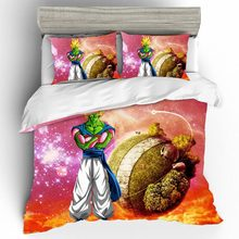 Bed Linen Cotton Set Qualified Luxury Couple Dragon Ball 3d King Size Bedding Duvets And Sets Home Textiles