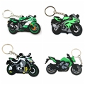 Аксессуары для мотоциклов 3D, резиновый брелок для мотоциклов, модель велосипеда Z1000 ER6N ZX6R