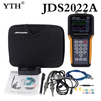 Handheld Oscilloscope 2 Channels 20MHz oscilloscope Bandwidth mini portable digital oscilloscope JH JDS2022A JH JDS2012A NEWEST фото