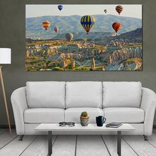 Istanbul Turke Hot Air Balloon 5D DIY diamond painting full square/round drill 3d rhinestone mosaic set diamond embroidery sale