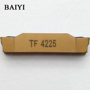 Image 3 - 10 pièces N123H2 0400 0004 TF 4225 carbure insert rainurage indexable fente insert CNC tour outils de coupe