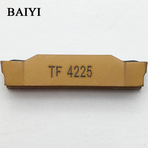 Image 3 - 10pcs N123H2 0400 0004 TF 4225 Carbide insert grooving indexable slotted insert CNC lathe cutting tools