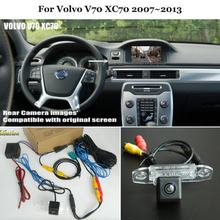 Car Rear View Back Up Reverse Camera Sets For Volvo V70 XC70 2007~2013 - HD Night Vision RCA & Original Screen Compatible(China)