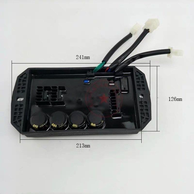 8KW 10KW 15KW AVR adapté pour GX620 générateur à essence triphasé générateur pièces moins cher remplacement 10 fils