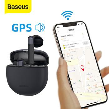 Baseus AirNora TWS słuchawki Bluetooth bezprzewodowy zestaw słuchawkowy Anti-lost APP funkcja GPS Bluetooth 5 0 słuchawki IPX4 Touch Control tanie i dobre opinie EL-02 douszne Rohs Dynamiczny CN (pochodzenie) Prawdziwie bezprzewodowe 10dB Do kafejki internetowej Słuchawki do monitora