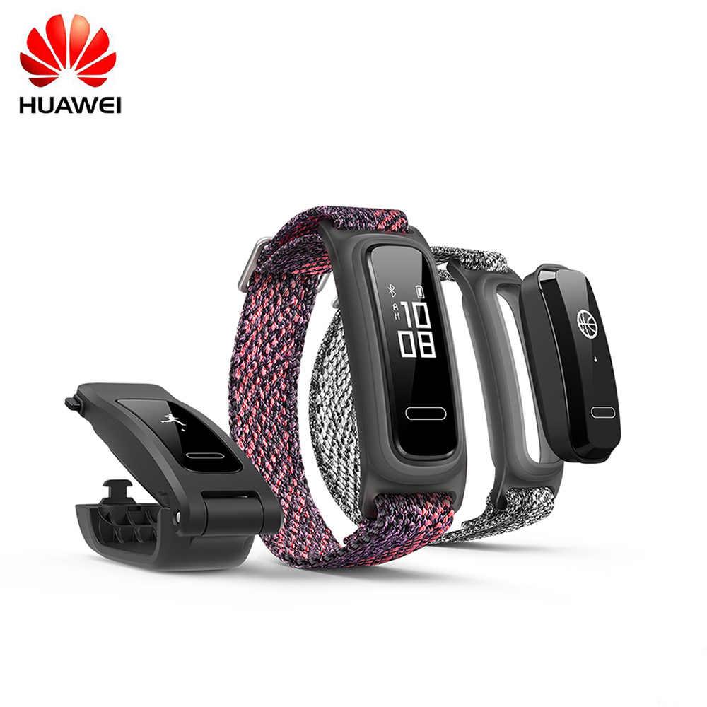 HUAWEI Band 4e Smart Bracelet Fitness Tracker Wristband Running Basketball Footwear Mode 5ATM Waterproof Men Women Smart Watch