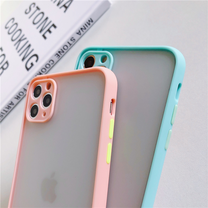 LECAYEE 2020 New iPhone Case Precise Super Anti Knock Phone Protective Cases for iPhone 11 Pro X XR XS Max 7 8 Pus 6s 6 SE (7)