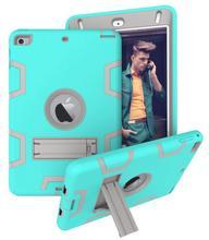Bebê seguro resistente silicone caso armadura para novo ipad mini 5 ipad mini 5th gen 2019 capa para ipad mini 4 tablet caso + filme caneta