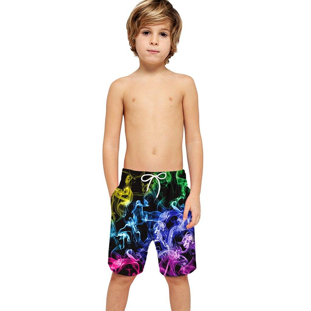 Boys Kids Children 3D Print  Swim Swimwear Beach Shorts QuickDry Swimtrunk Board Shorts  Board Surf Shorts Swimwear  Boys