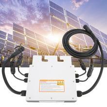 DC 18-50V 400W MPPT Solar Micro Inverter Grid Tie Inverter With Waterproof цена 2017
