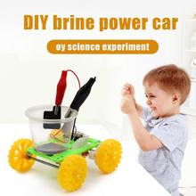 DIY Science Gizmo Physics Experiment Saltwater Power Car Students Physics Teaching Resources Handmade Puzzle Assembled Toys physics made simple