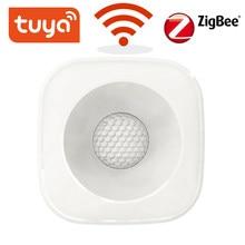 Tuya zigbee/wifi pir sensor de movimento sem fio detector infravermelho segurança do assaltante alarme sensor vida inteligente controle app compatível