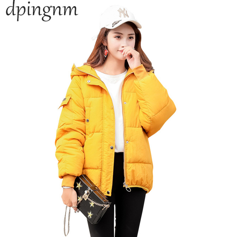 2019 New Women Spring Coat Cotton Warm Overcoat Coat Casual Solid Jacket Women   Parkas   Outerwear