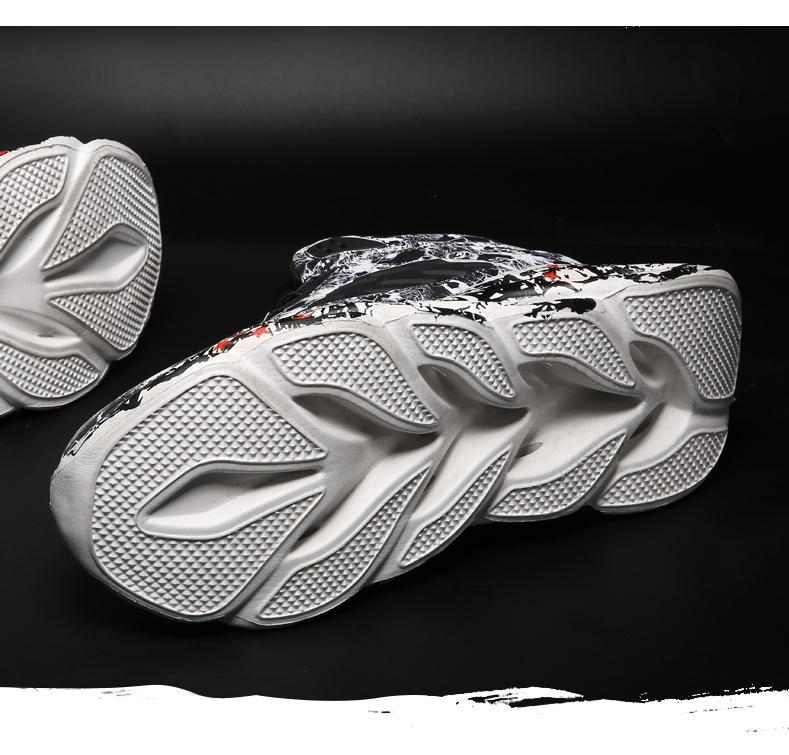 H9684614f78b04c4ebaaff3dde84896abU Fashion Men's Hip Hop Street Dance Shoes Graffiti High Top Chunky Sneakers Autumn Summer Casual Mesh Shoes Boys Zapatos Hombre