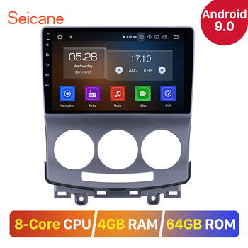 """Seicane 9"""" IPS Screen Android 9.0 8-CORE DSP Car Stereo Unit Multimedia GPS Radio Player for 2005-2010 Old Mazda 5 RDS Carplay"""