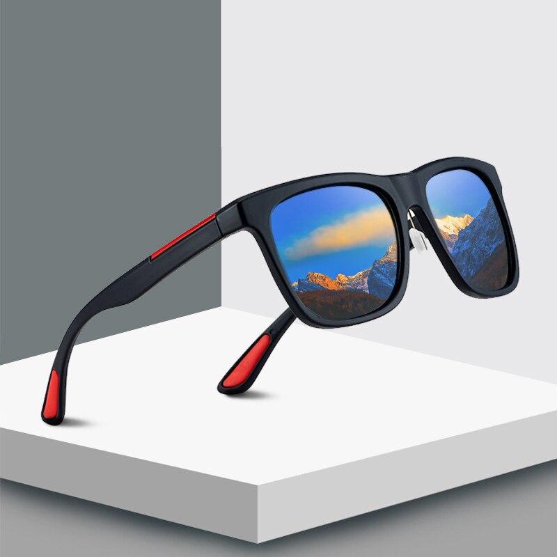 Vintage Square Sunglasses Men Brand Designer Oversized Mirror Driving Sun Glasses  Retro EyewearUV400 Oculos De Sol