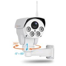 Hd 1080p 5mp bala wifi ptz ip câmera de áudio 5x zoom óptico 1920p rastreamento automático foco lente sem fio inteligente cctv ao ar livre onvif