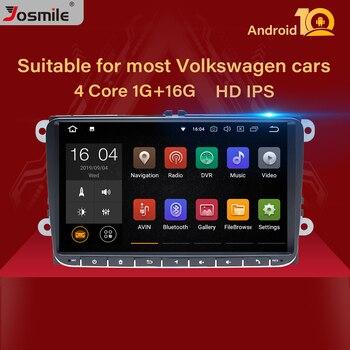 2 Din Android 10 автомобильное радио GPS навигация для VW Passat B6 amarok volkswagen Skoda Octavia 2 superbseat leon golf 5 6 мультимедиа
