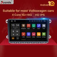 2 Din Android 10 autoradio di Navigazione GPS Per VW Passat B6 amarok volkswagen Skoda Octavia 2 superbseat leon golf 5 6 Multimedia