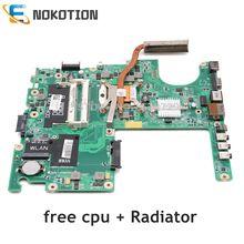 Nokotion Laptop Cho Dell Studio 1558 CN 0G936P 0G936P DAFM9BMB6D0 Chính Ban HM57 DDR3 Giá Rẻ CPU + Tản Nhiệt