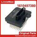 Оригинальный Новый воздуходувки резисторы кондиционер контроль скорости модуль Кондиционер Резистор 1610497380 для peugeot 308 408 T9