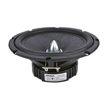1PCS 6,5 Zoll Audio Auto Mitten Bass Lautsprecher Heimkino 4 Ohm Glas Faser Kugel Woofer Lautsprecher DIY Sound system