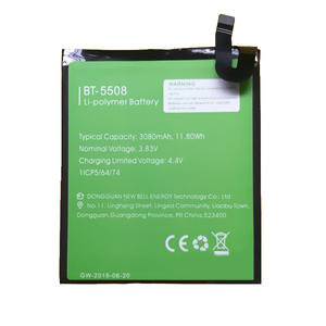 Battery for BT-5508 LEAGOO Tracking-Number T8s-Phone Original 3080mah Latest-Production