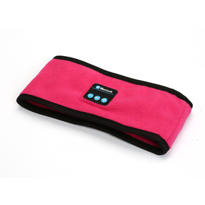Image 2 - ポータブルワイヤレス Bluetooth ヘッドフォン睡眠ヨガヘッドバンド帽子ソフトウォームスポーツキャップスマートスピーカーステレオスカーフヘッドセットとマイク