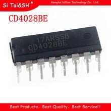 10PCS CD4028BE DIP16 CD4028 DIP 4028BE DIP-16 new and  original IC