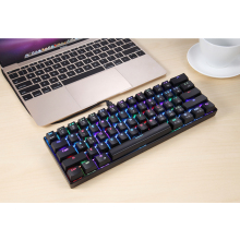 USB Wired Mechanical Keyboard Kailh BOX Axis RGB Backlight With Switch Gaming Keypad for PC Computer Gaming tesoro excalibur spectrum kailh gaming keyboard blue usb