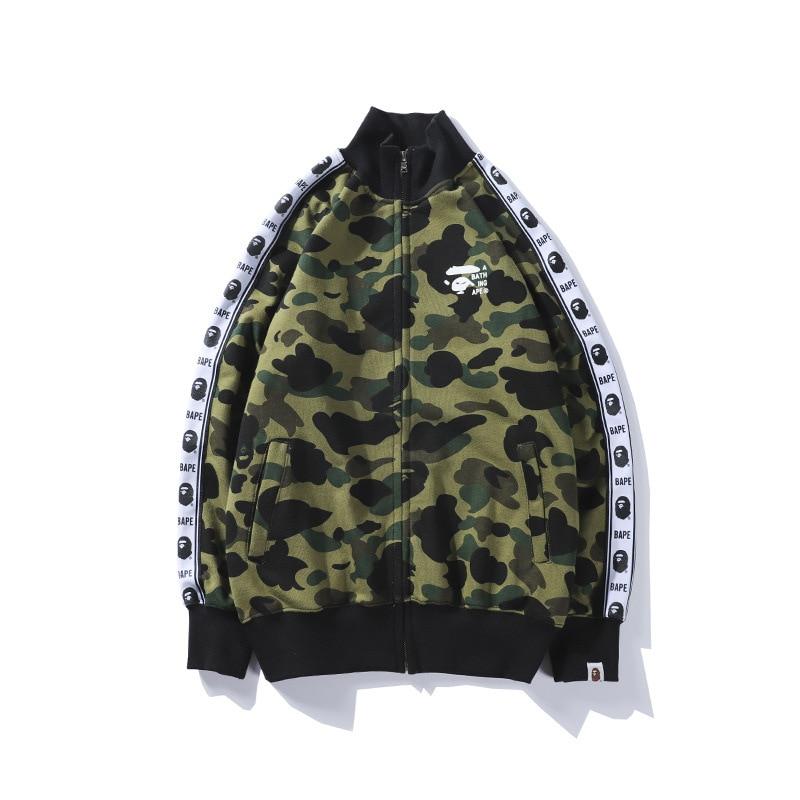 2020 Japanese-style Popular  Webbing Camouflage Baseball Uniform Men And Women  Fashion New Sty