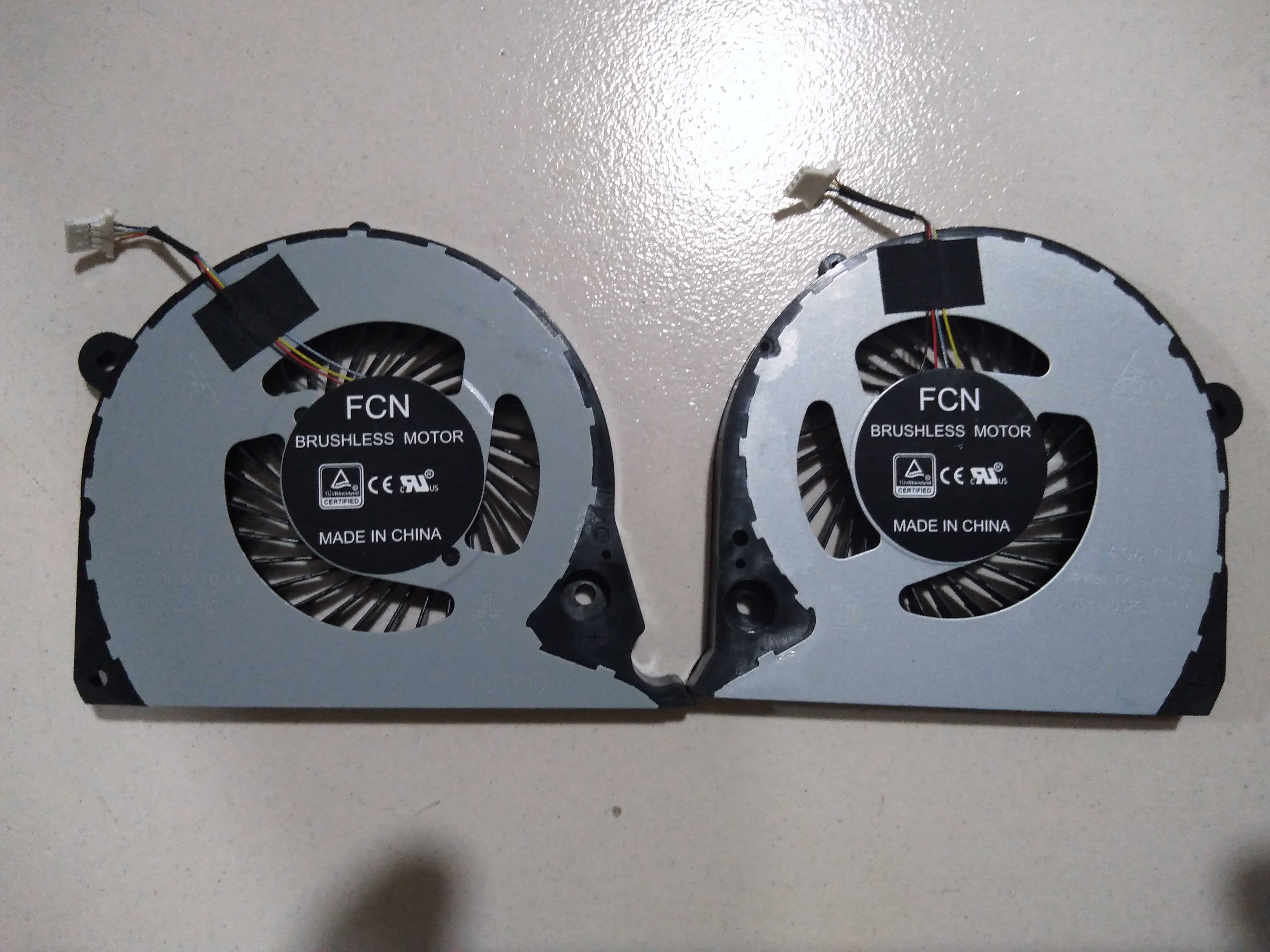 New CPU GPU Cooler Fan For DELL Inspiron 15-7588 15-7577 G7-7588 G7-7577 P72F G7-7590 P82F G5-5587 15 G7 7577 7588 Radiator